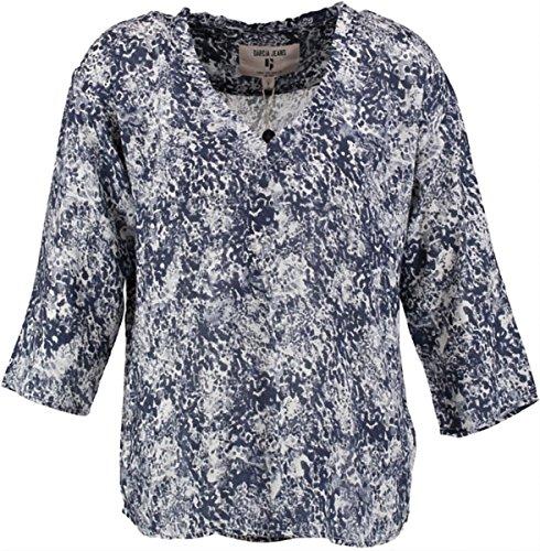 Garcia Damen U60035 Bluse, Mehrfarbig (Washed 2043), X-Small