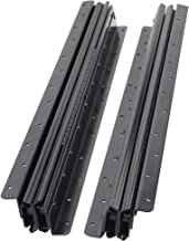 2 STKS Lade Dia's, Volledige Extension Heavy Metal Staal Drie-Sectie Telescopische Lading-Bearing Ball Guide Rails, 2 Slid...