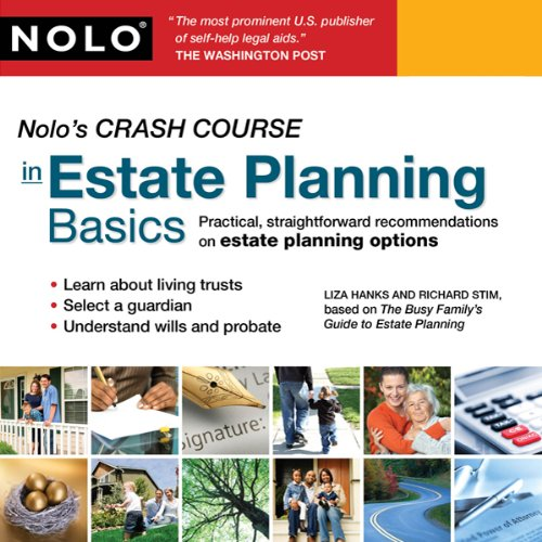 Nolo's Crash Course in Estate Planning Basics cover art
