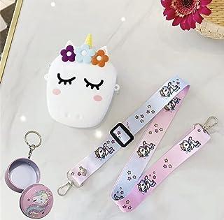 Le Delite / Unicorn Sling Bag / Unicorn Sling Bag for Girls /Rainbow Magic Silicon Sling Bag Kids/Cute Mini Purse for Kids...