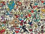 Buffalo Games - Tattoopalooza - 1500 Piece Jigsaw Puzzle
