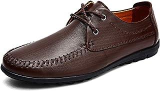 [Hardy] ドライビング ビジネス メンズ シューズ 防滑 軽量 通気 カジュアル 革靴