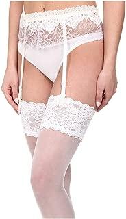 Hanky Panky Women's Dauphine Garter Belt White Lingerie
