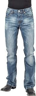 Stetson Men's Rocks Fit Bootcut Jeans - 11-004-1014-4082 Bu
