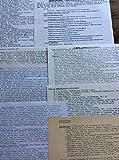 «Fiches Écologistes» Vingrau - 66600 Rivesaltes (14 feuillets) : Tissage - Accouchement - Miel - Pucerons- Ortie - Bougie - Yaourts - Vins- Convertisseur Harold Bate. 1972