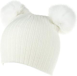 Skullies Baby Pom Pom Skullies Beanie Warm Knitted Hat Newborn Winter Snowboard Hat