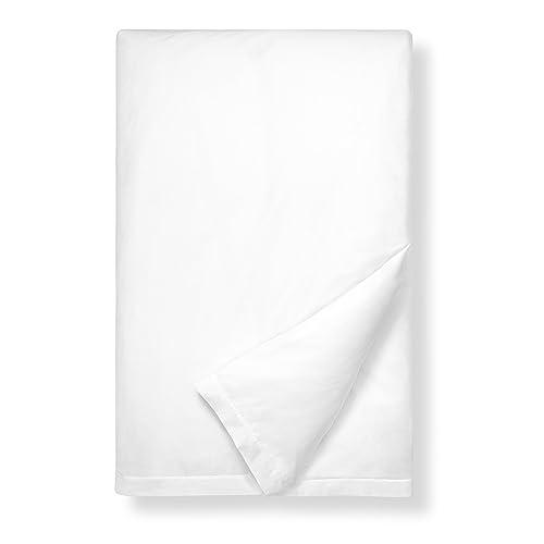 Boll & Branch Luxury Long Staple Organic Cotton Duvet Comforter in White - Full/Queen