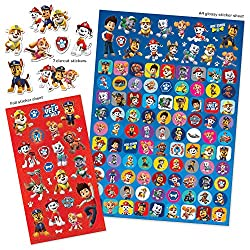 OFFICIAL PRODUCT - Official high-quality Mega Sticker Pack featuring all of your child's favourite Paw Patrol characters and captions. We use the best materials to ensure that our stickers are wonderfully detailed and coloured and with a fantastic gl...