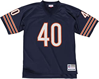 Mitchell & Ness Gales Sayers Chicago Bears Men's NFL Navy Jersey