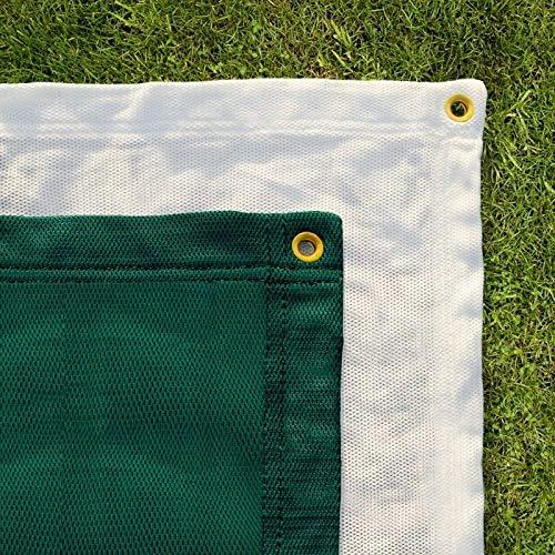Professional Archery Back Stop Netting [5 Sizes] – Heavy Duty Reinforced Archery Nets [Green or White]   Archery Accessories & Archery Equipment   Archery Backstop (Green, 6ft x 6ft)