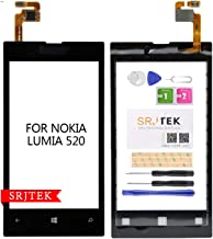 for Nokia Lumia 520 Touch Screen Glass Digitizer Replacement Repair Parts Kits Black