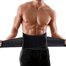 Mannen taille trainer tops fitness riemen sauna buik manier body shaper gewichtsverlies corset vetverbranding taille corse...