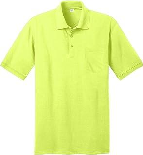 قمصان بولو رجالي بأكمام قصيرة وجيب من Joe's USA بـ 10 ألوان. المقاسات XS-6XL