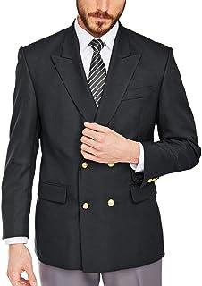 ダブル ジャケットメンズ ブレザーダブル テイラードジャケット メンズ カジュアル 紳士 スリム ビジネス
