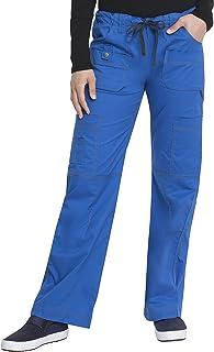 Dickies Women's Gen Flex Junior Fit Contrast Stitch Cargo Medical Scrubs Pants (pack of 1)