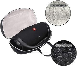 Funda rígida de Viaje para JBL Boombox portátil Bluetooth Resistente al Agua Altavoz protección Bolsa de Almacenamiento, Puede acomodar el Cargador Enchufe USB Cable etc.