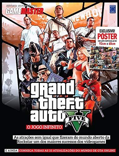 Superpôster Game Master - GTA V: o Jogo Infinitivo