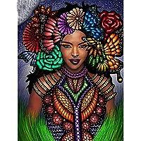 大人のためのパズル1000ピース-大人のためのジグソーパズル-美しいアフリカの部族の女の子大きなパズルゲーム1000個の大人のためのアートワークギフト10代の家族-26x38cm
