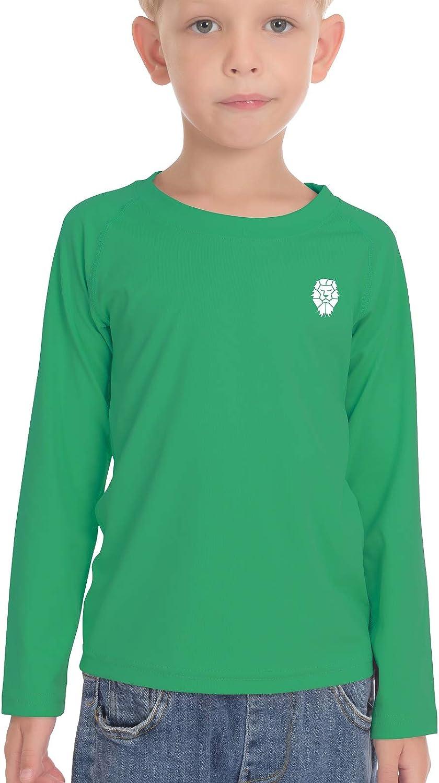 PIQIDIG Boys Girls Long Sleeve Shirts - Youth Compression T-Shirts Football Basketball Undershirts Sports