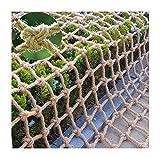 Lanrui Malla Neto de Seguridad para niños Cuerda de cáñamo Cuerda de cáñamo, pájaros al Aire Libre Net Garden Plant Fence Net, Niños Cuerda Escalera Swing Red, Fondo Decoración Net Red Balcon
