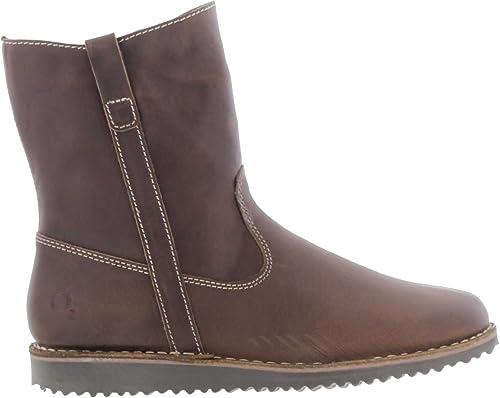 Oxygen Kiel - botas de Piel para mujer marrón marrón