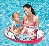 Barco para niños en goma, color rosa