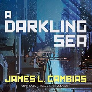 A Darkling Sea audiobook cover art
