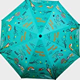 Cheeky Chunk Monsoon Magic 3 Fold Designer Umbrella