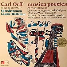 Carl Orff, Gunild Keetman - Musica Poetica Teil 10 - Orff Schulwerk - Sprechszenen, Laudi, Balladen - BASF - 20 21030-8, Harmonia Mundi - HMS 30 659; and HM 30 909