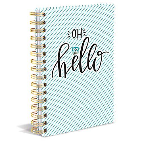 Hard Bound Journal: Cute Owl – Hardcover-Notizbuch mit stabiler Ringbindung: Süße Eule: Unser langlebiges Notizbuch für den täglichen Schreibbedarf (Hardcover-Notizbuch mit Ringbuchbindung)