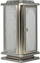 Paul Jansen Grave Lantern Stainless Steel Matt Brushed Height 23.5 cm – Silver