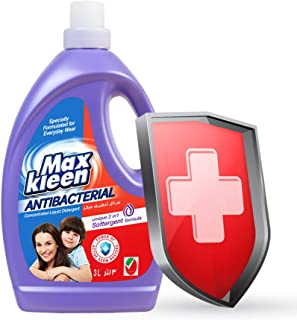 Maxkleen 3L AntiBacterial Concentrated Liquid Detergent