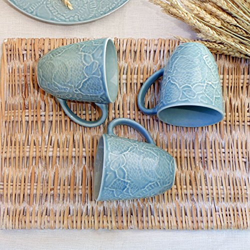Mug Shabby Chic Lace Maiolica Collection Angelica Home & Country