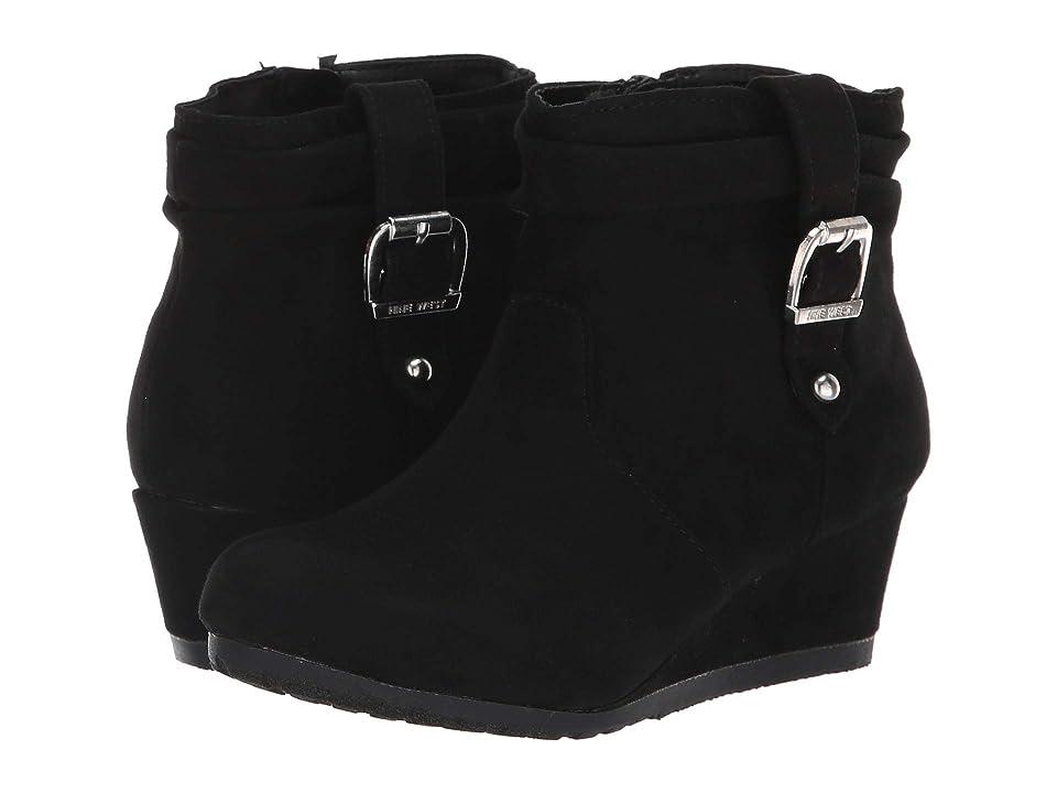 Nine West Kids Katyah (Little Kid/Big Kid) (Black Microfiber) Girls Shoes