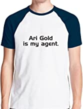 D9RXD Ari Gold is My Agent Baseball T Shirt Tee