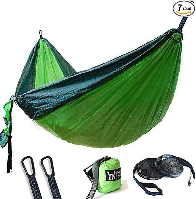 WINNER OUTFITTERS Double Camping Hammock - Best Camping Hammock