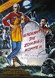 Verdammt! Die Zombies kommen (1984)   original Filmplakat, Poster [Din A1, 59 x 84 cm]
