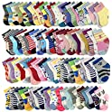 20-Pairs Baby Socks Wholesale for Infant Toddler Kids Children