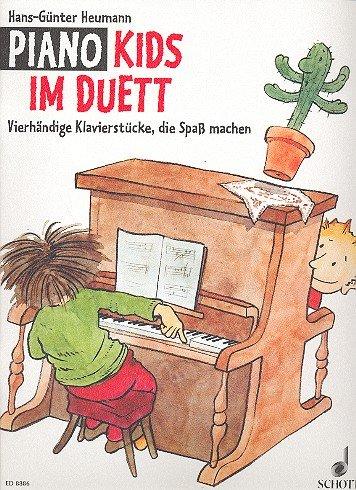 PIANO KIDS im Duett (+CD) mit Bleistift -- 21 vierhändige Klavierstücke von Klassik bis Pop, die Spaß machen - herausgegeben von Hans-Günter Heumann (Noten/Sheet music)