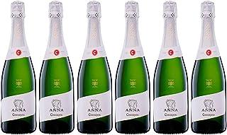 Codorníu | Anna de Codorníu Cava Brut | Medalla de Oro Concours Mondial de Bruxelles | Caja de 6 botellas de 75 cl