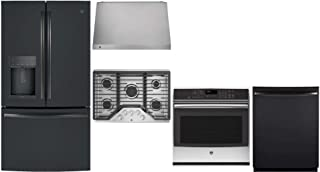 GE Profile 5 Piece Kitchen Appliance Package with 36