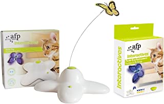 All For Paws Interactive Cat Toy Flutter Bug + Refill Pack
