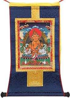 needlid Thangka Bouddhiste tibétain Thangka Bouddhiste, Thangka tibétain, Conception de Peinture de défilement Peinture de...