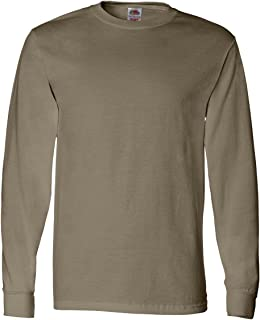 Fruit of the Loom Men's Long Sleeve Cotton T-Shirt