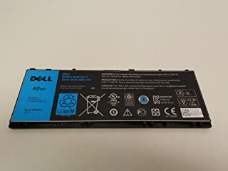 Genuine Dell Latitude 10 ST2 ST2e Touch Screen Tablet Replacement 60WH Type PPNPH Standard Rechargeable Li-Polymer Battery, Compatible Part Numbers: YCFRN, FWRM8, KY1TV, 312-1412, 1VH6G, 1XP35, C1H8N