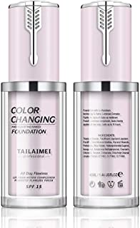 Flawless Colour Changing Foundation, Liquid Foundation