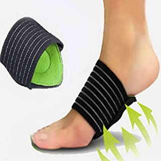 Unisex Cushioned Foot Arch Support Shock Pain Absorber Relief Achy Tired Feet one size fit for all Size