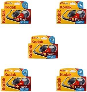 Kodak Fun Flash - Cámara desechable con flash (39 fotografías 5 unidades)