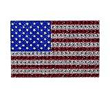 Team Promark BEUS01Team ProMark USA Flag Bling Emblem