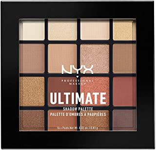 Nyx Eyeshadow Palettes Warm Neutrals 0.46 Ounce, Pack Of 1